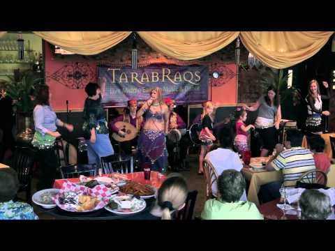 TarabRaqs Mid East Music & Belly Dance Summer Tour 2013 Azizza