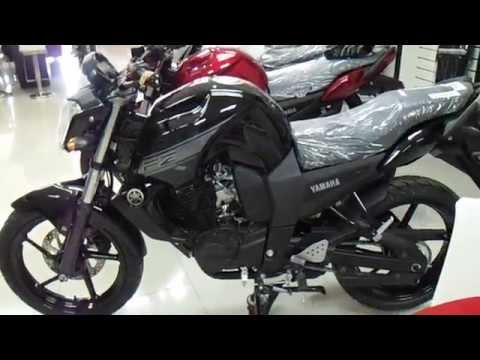 Walk Around Black YAMAHA Fz 16