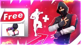 "SEE THE SKIN ""IKONIK"" - THE DANSE ""SCENARIO"" FREE - ELMENT ON FORTNITE!"