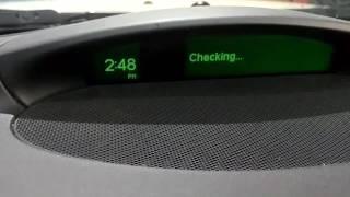 2006 Saab 9-3 Service Info reset trick