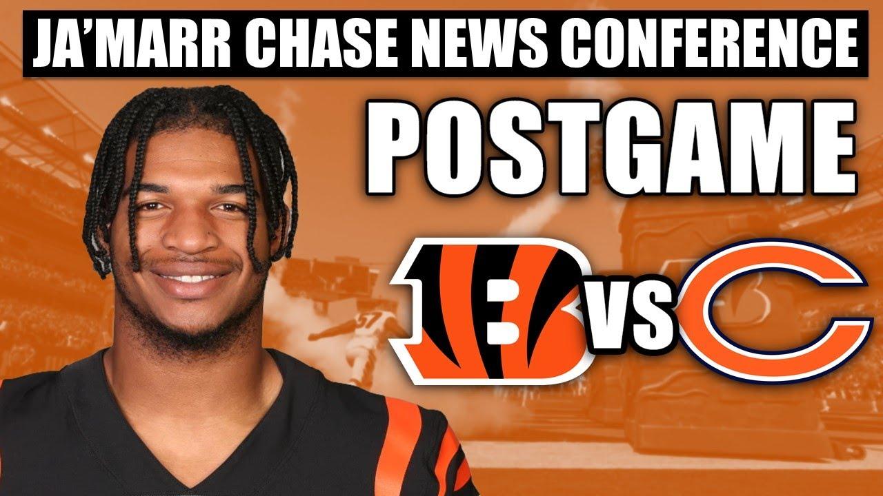 Download Ja'Marr Chase on Cincinnati Bengals' Loss to Chicago Bears | NFL Week 2