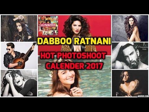 Dabboo Ratnani HOT Calendar 2017 : Aishwarya Rai, Sunny Leone, Alia Bhatt   22 January 2017