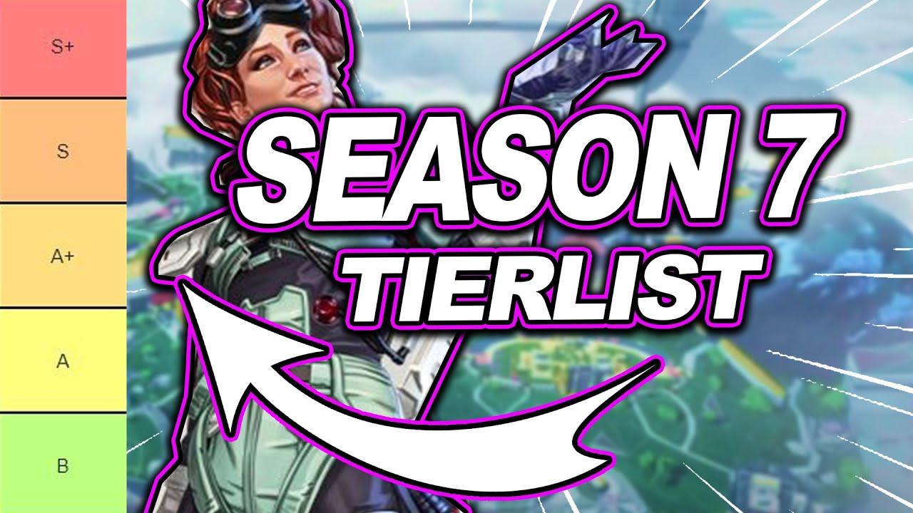 Apex Legends Season 7 Tier List Legends You Should Be Running Youtube