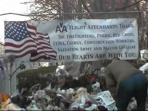 WTC 911 GROUND ZERO. WALK IN . CLOSER LOOK