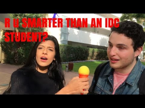 STREET TALKS EP2- Are the students at the IDC smart?