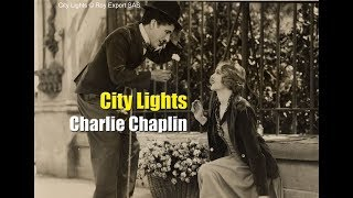 Charlie Chaplin - Flower Girl Sequence - City Lights
