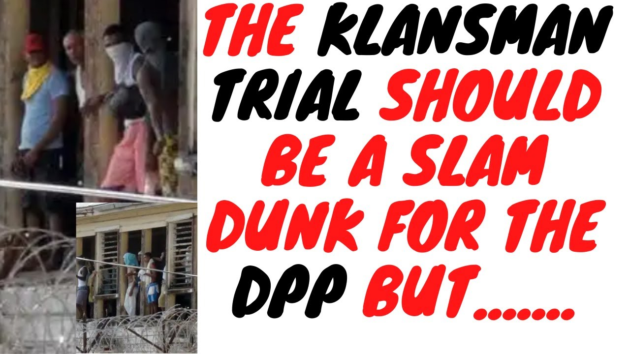 Blackman And Klansman In One Lane VS The DPP And Her Team In The Next - Who Will Win?