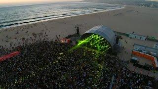 Sunset Party Figueira da Foz Aerial View - 12th July 2014 - RFM/SOMNII