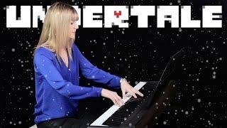 Undertale – Snowy (Piano & Flute Cover) || Tifita