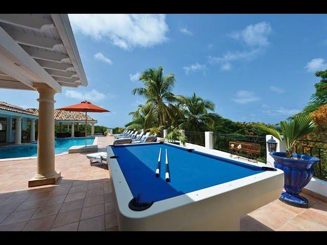 Saint Martin property for sale, Terres Basses, La Provencale,  luxury hillside villa