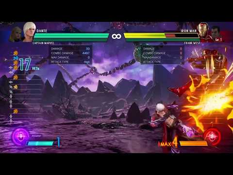 MvCI Dante No Tech Reset High High