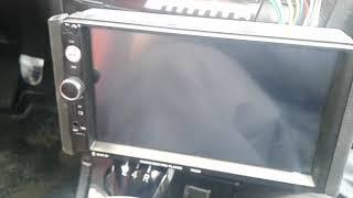 Не работает дисплей на магнитоле