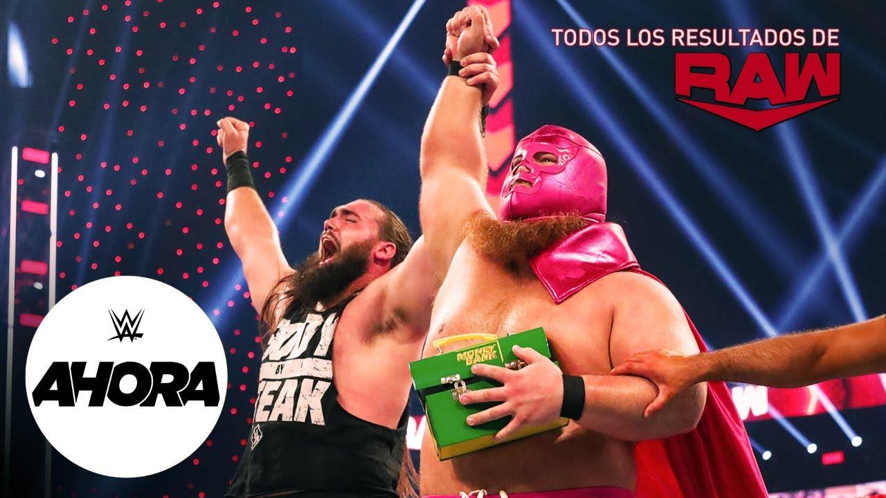 """""""REVIVE Raw en 6 (MINUTOS): WWE Ahora, Oct 19, 2020"""