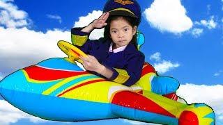 Emma Pretend Play as Pilot