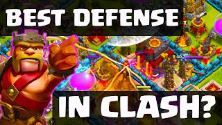 Clash of Clans - Best Defensive Layout in Titan League? 'The 49 Maker' CoC