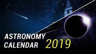 Astronomy Calendar For 2019