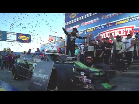 Woody Pitkat Earns First NHMS Win - YouTube