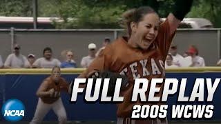 Texas vs. Arizona: 2005 Women's College World Series