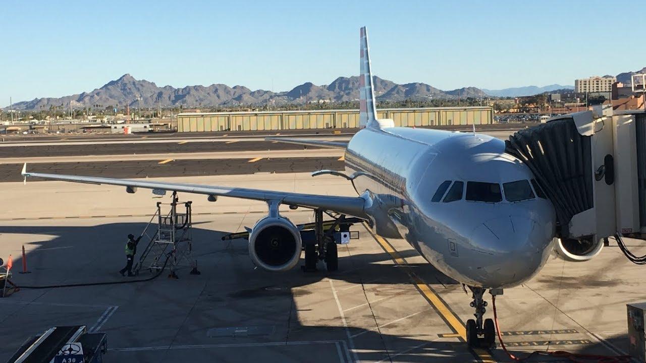 American Airlines Flight Phoenix To Kansas City Youtube