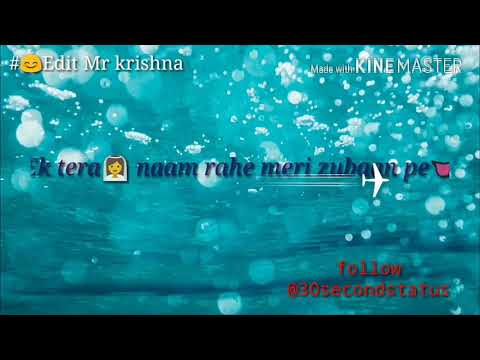 Heeriye New song satus😊2018 Edit Mr krishna