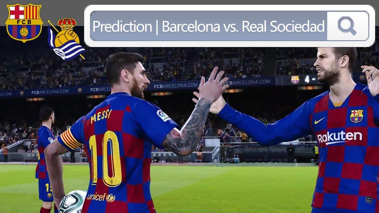 LaLiga Barcelona vs. Real Sociedad | 西甲 巴萨 vs. 皇家社会 ...