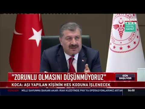 Sağlık Bakanı Fahrettin Koca: \