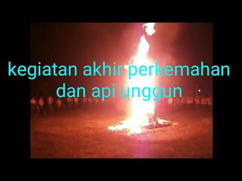 Api unggun pramuka lembah sehu part 3 ( cover music by mars pramuka dan api unggun )