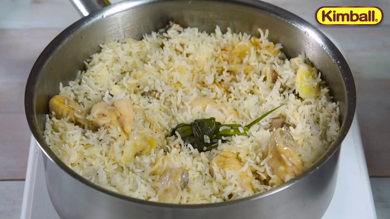 Kimball Recipe Satu Periuk Nasi Ayam Hainan
