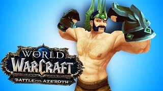 BFA (Almost) Naked PVP Bug - World of Warcraft: Battle For Azeroth (BETA)