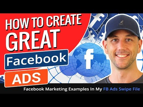 How To Create Good Facebook Ads - Facebook Marketing Examples In My FB Ads Swipe File