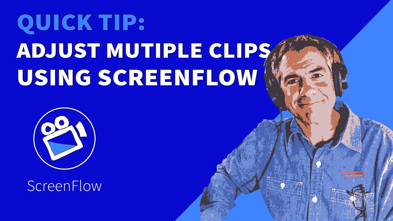 Quick Tip: How To Align & Resize Multiple Clips in Screenflow - YouTube