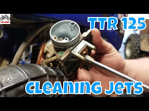 Cleaning Some Jets and Check This Air Filter - Yamaha TTR 125 2004