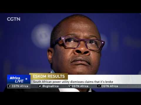 South African power utility dismisses claims that it's broke