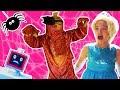 PRINCESS vs DINOSAUR | Halloween Princesses In Real Life | Robot Pranks | Costume Games for Kids