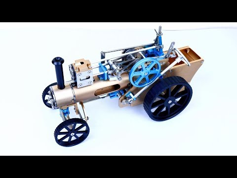 How to Build Steam Car Engine