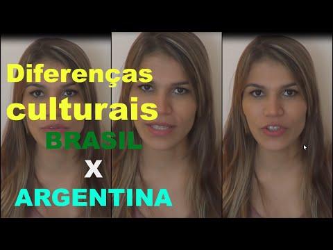 Diferenças culturais Brasil Argentina | ModaByNill