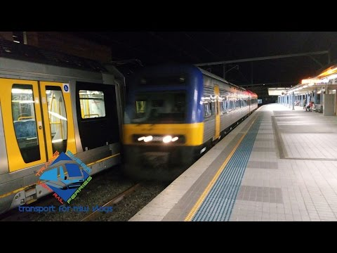 Transport for NSW Vlog No.765 Endeavour Passing Gosford