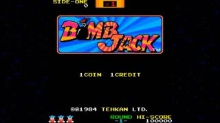 Bomb Jack 1984 Tehkan Mame Retro Arcade Games