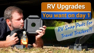 RV Upgrades: Snap Pads for Travel Trailers?! | New mattress + more!