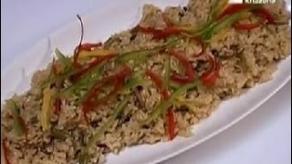 Brown Rice With Mushroom - Nikhil Rastogi - Rasm-e-rasoi