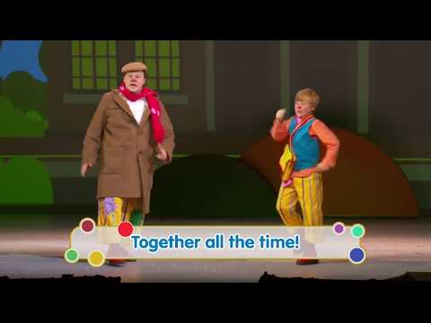 The Tale of Mr Tumble - Wheels on the Bus Song: CBeebies