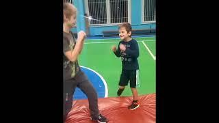 №3 Рукопашный бой Занятия Дети 4 неделя подготовки 2017