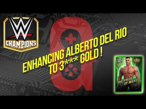 Enhancing Alberto Del Rio to 3*** Star Gold / WWE Champions 🏆