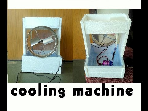 How To Make Cooling Machine Or Cooling System Or Cooler At Home - Easy Way - Sdik Rof