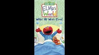 Elmo's World: Wake Up With Elmo (2002 VHS)