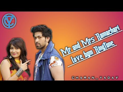 Mr And Mrs Ramachari Love Bgm Ringtone || Best Of Yash And Radhika Ringtone || Best Kannada Ringtone