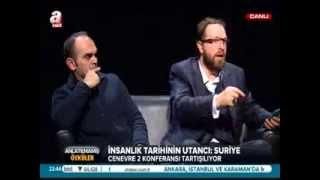 Fatih Tezcan - 26 Ocak 2014 A Haber Canlı Yayın Programı