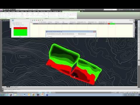 CAD-1 Presents Volumes Dashboard in Civil 3D
