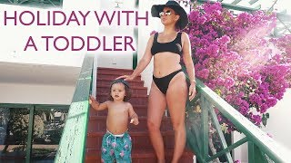 HOLIDAY WITH A TODDLER | LANZAROTE VLOG | Lucy Jessica Carter