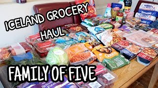 HUGE GROCERY HAUL & MEAL PLAN ~ ICELAND & POUNDSTRETCHER thumbnail